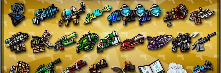 pixel gun 3d weaponry