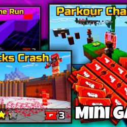 pixel gun 3d mini games