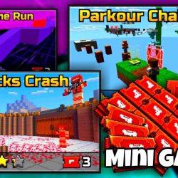 pixel gun 3d mini games