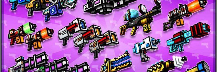 pixel gun 3d weapons gems coins