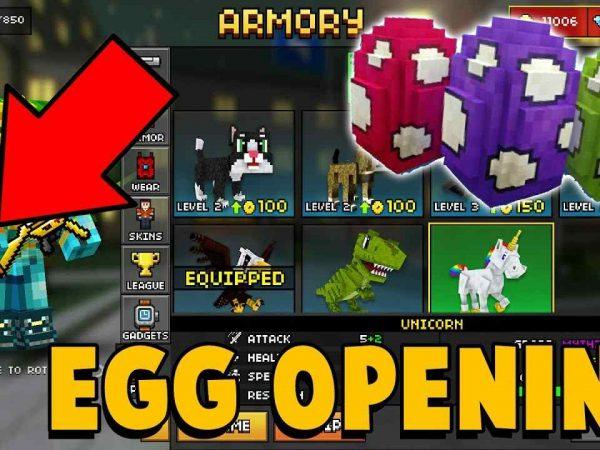 pixe gun 3d eggs
