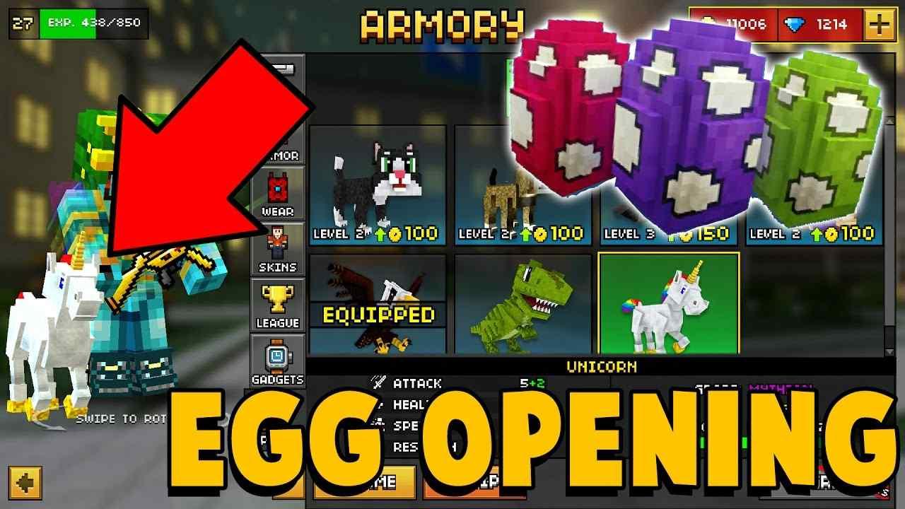 Pixel Gun 3D Eggs