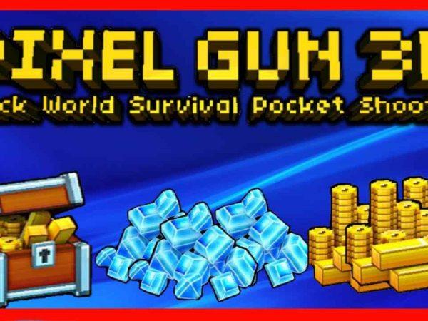 pixel gun 3d coins gems