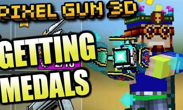 pixel gun 3d free medals