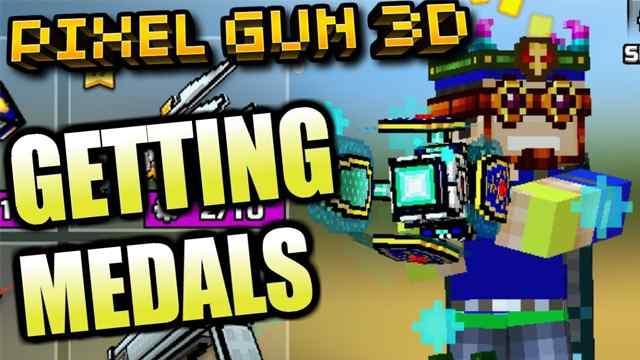 How To Get Free Medals in Pixel Gun 3D